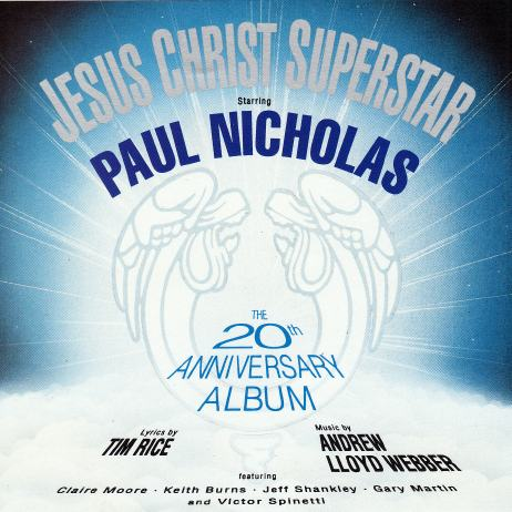 Jesus christ superstar 20th anniversary london cast